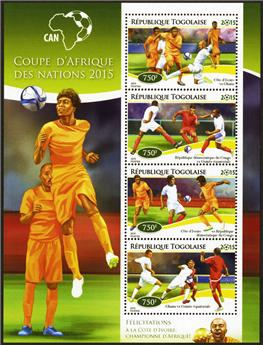 n° 4352 - Timbre TOGO  Poste