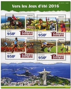 n° 4802 - Timbre TOGO  Poste
