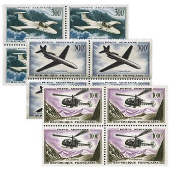 n° 35/37 -  Timbre France Poste aérienne (Bloc)