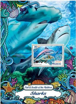 n° 980  : Timbre MALDIVES Blocs et feuillets