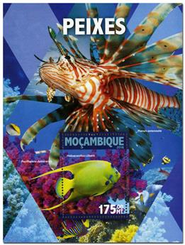 n° 1043  : Timbre MOZAMBIQUE Blocs et feuillets