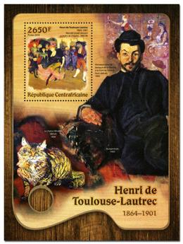 n° 1033  : Timbre CENTRAFRICAINE Blocs et feuillets