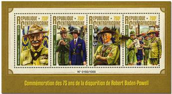 n° 4268  : Timbre CENTRAFRICAINE Poste