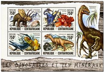 n° 4448  : Timbre CENTRAFRICAINE Poste