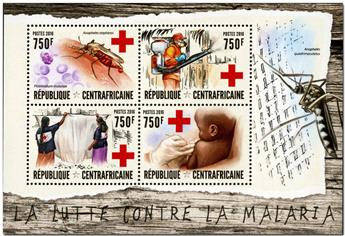 n° 4488  : Timbre CENTRAFRICAINE Poste