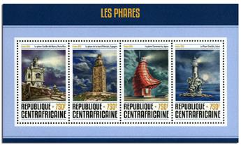 n° 4608  : Timbre CENTRAFRICAINE Poste