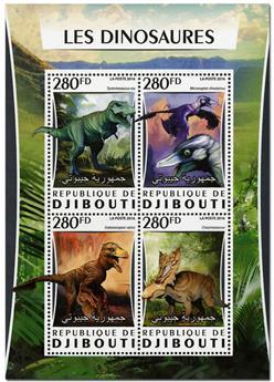 n° 1039  : Timbre DJIBOUTI Poste