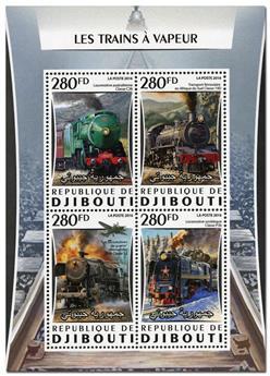 n° 1059  : Timbre DJIBOUTI Poste