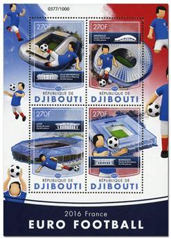 n° 995  : Timbre DJIBOUTI Poste