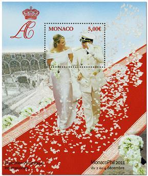 n° 101 -  Timbre Monaco Bloc et feuillets