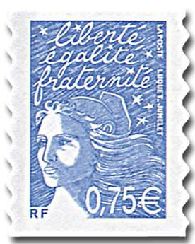 n° 48A (3729B) /48C (3729D) -  Sello Francia Autoadhesivos