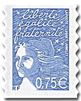 n° 48A (3729B) /48C (3729D) -  Selo França Autoadesivos