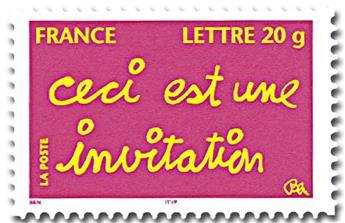 n° 52A (3760B) -  Selo França Autoadesivos