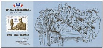 n° 48 -  Selo França Blocos lembrança
