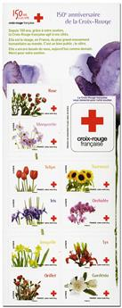 n° 2058 -  Timbre France Carnets Croix Rouge (2014)