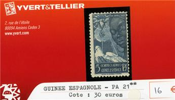 GUINEE ESPAGNOLE PA - n°21**