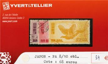 JAPON PA - n°8/10 obl.