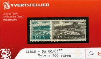 LIBAN PA - n°80/81**