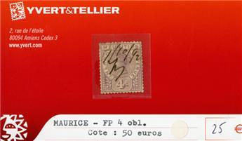MAURICE FP - n°4 obl.