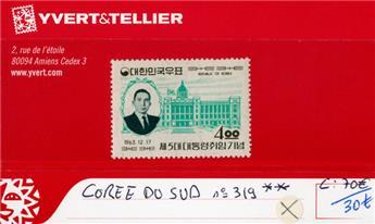 COREE DU SUD - n°319**