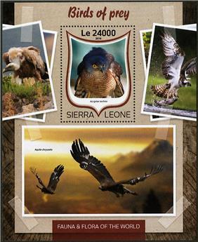 n° 1012 - Timbre SIERRA LEONE Blocs et feuillets