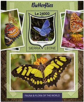 n° 1022 - Timbre SIERRA LEONE Blocs et feuillets