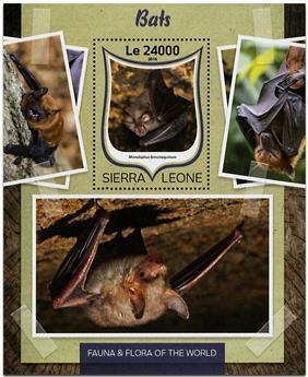 n° 1027 - Timbre SIERRA LEONE Blocs et feuillets