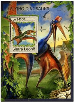 n° 1104 - Timbre SIERRA LEONE Blocs et feuillets
