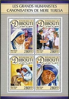 n° 1304 - Timbre DJIBOUTI Poste
