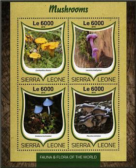 n° 6221 - Timbre SIERRA LEONE Poste