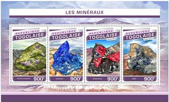 n° 5274 - Timbre TOGO  Poste