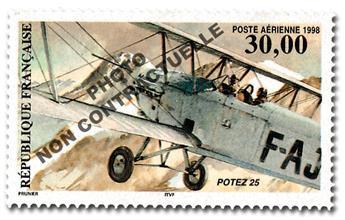 n° 62a -  Timbre France Poste aérienne