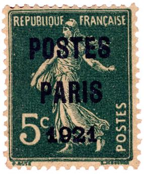 n°26(*)   - Timbre France Preoblitérés