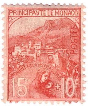 n°29* - Timbre MONACO Poste