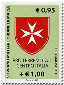 n° 1330 - Timbre ORDRE de MALTE Poste
