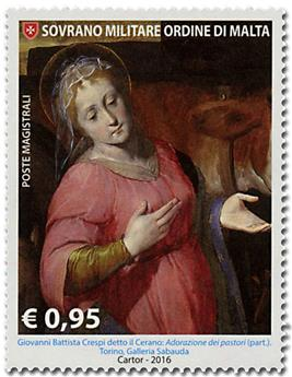 n° 1351 - Timbre ORDRE de MALTE Poste
