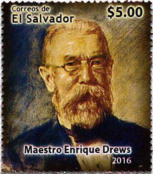 n° 1880 - Timbre SALVADOR Poste