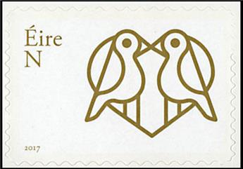n° 2196 - Timbre IRLANDE Poste