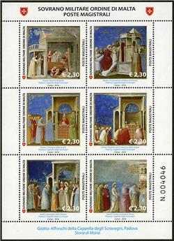 n° 1323 - Timbre ORDRE de MALTE Poste