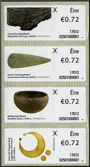 n° 83/86 - Timbre IRLANDE Timbres de distributeurs