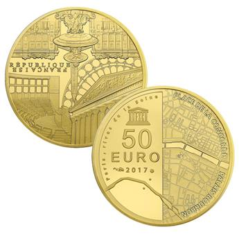 50 EUROS OR - FRANCE - UNESCO BE 2017