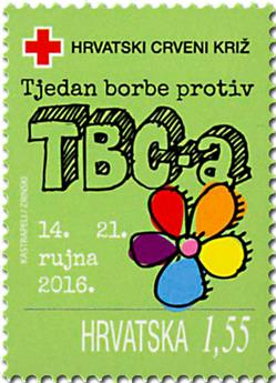 n° 123 - Timbre CROATIE Timbres de bienfaisance