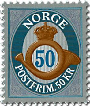 n° 1794Aa - Timbre NORVEGE Poste