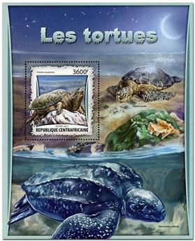 n° 1072 - Timbre CENTRAFRICAINE Blocs et feuillets