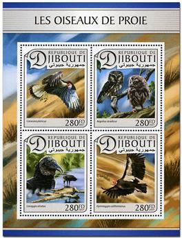 n° 1396 - Timbre DJIBOUTI Poste
