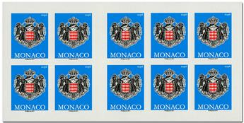 n° 19 - Timbres Monaco Carnets