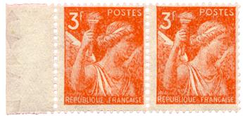 n°655a** - Timbre FRANCE Poste