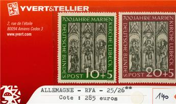 ALLEMAGNE FEDERALE - n°25/26**