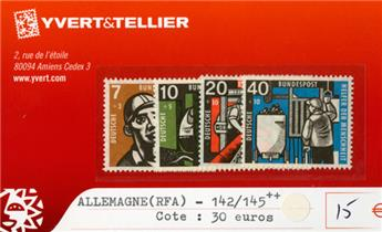 ALLEMAGNE FEDERALE - n°142/145 **