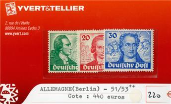 ALLEMAGNE BERLIN - n°51/53**